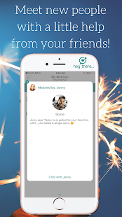HeyThere - Wingman Matchmaking Social Network- screenshot thumbnail