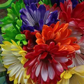 Bouquet by Johnny Knight - Digital Art Things ( season, color, art, flowers )