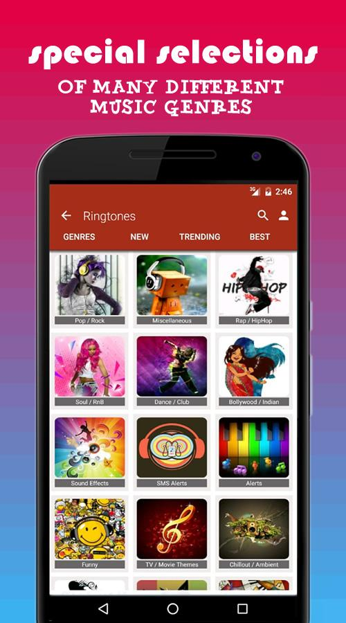 PHONEKY Ringtones & Wallpapers- screenshot