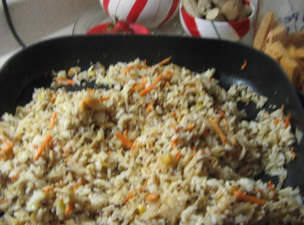 In a large skillet(I used my electric skillet). Heat  olive oil and add...