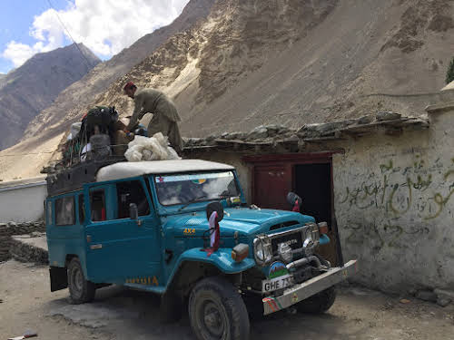 Travel Guide to the Hushe Valley // Jamil Jeep Service Acts As Merchandise Delivery As Well