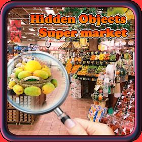 Hidden Object Supermarket Game