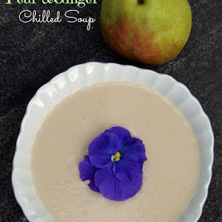 Chilled Pear and Ginger Soup