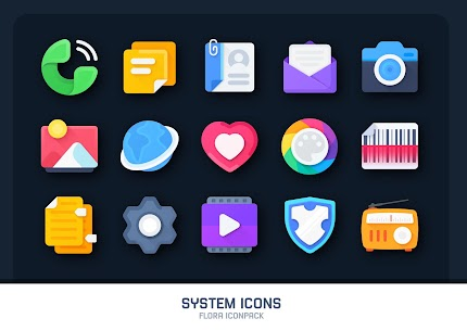 Flora : Material Icon Pack (MOD, Paid) v1.4 1