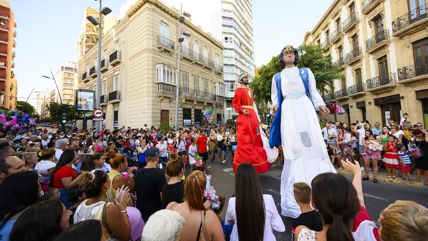 Almería no tendrá este año Batalla de Flores.