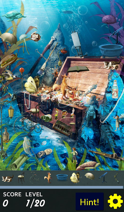 Hidden Object - Walk the Plank- screenshot
