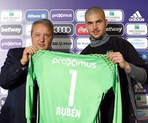 """Ruben portera le numéro 1 : """"Je vais travailler dur pour aussi le devenir"""""""