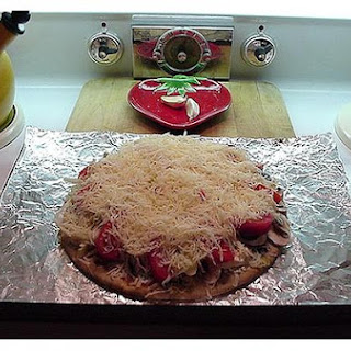 Whole Wheat Crust Pizza