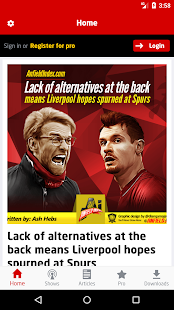 Anfield Index - náhled
