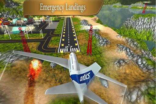Airplane flight Simulator: Airplane Games 2020 apkpoly screenshots 4