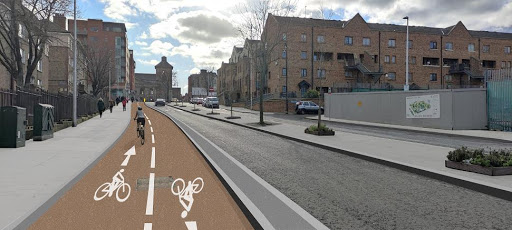 Work expected to start on Grangegorman to Thomas Street Walking and Cycling Route in 2022