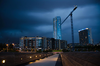 Photo: Loving this stormy weather! Another night of moody clouds :)  #Austin