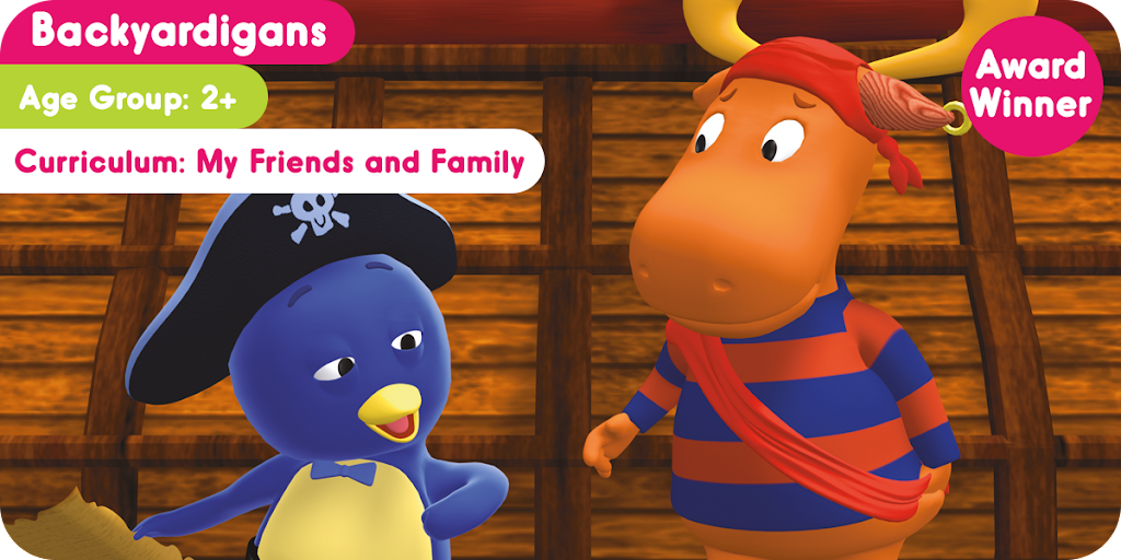Join the Backyardigans on their hunt for treasure