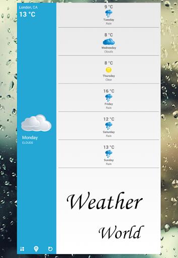 天気の世界