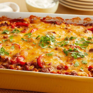 Tortilla Casserole With Ground Beef Recipes.