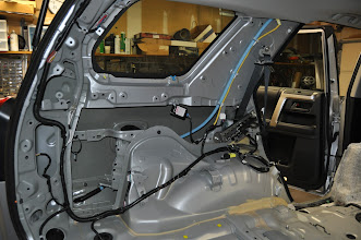 Photo: Left side after interior removal