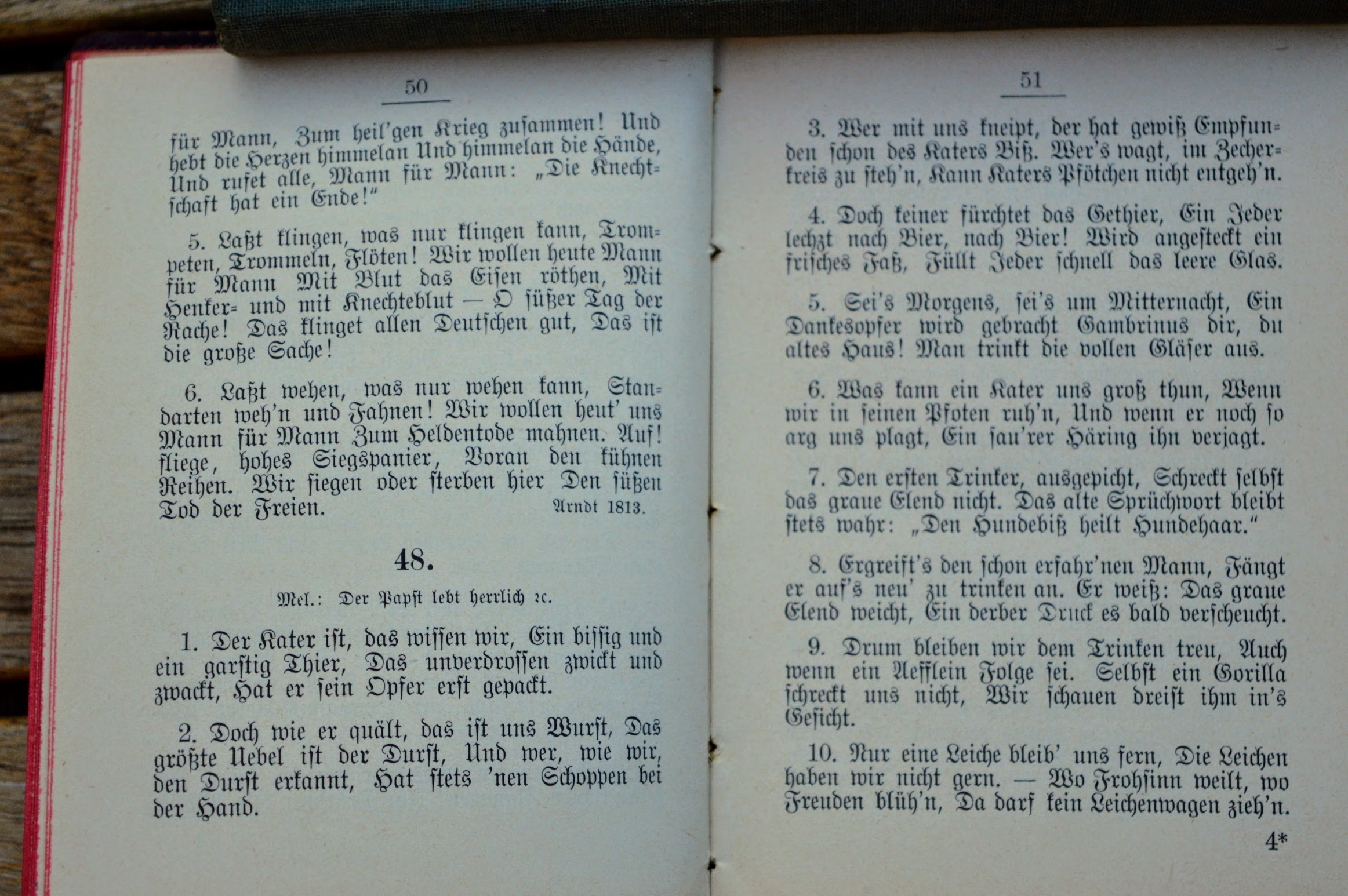 Liederbuch für die Vereine der Staatsbahn-Civil-Supernumerare, 1893