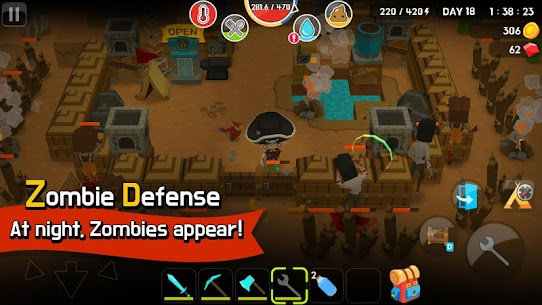 Mine Survival MOD Apk (Free Shopping) 5