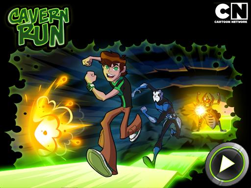 Ben 10 Cavern Run
