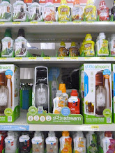 Photo: We have a SodaStream so we're always looking for deals on drinks. We'll probably buy some on Saturday for the party on Sunday.