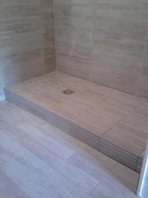 salle de bain le brech carrelage. Black Bedroom Furniture Sets. Home Design Ideas