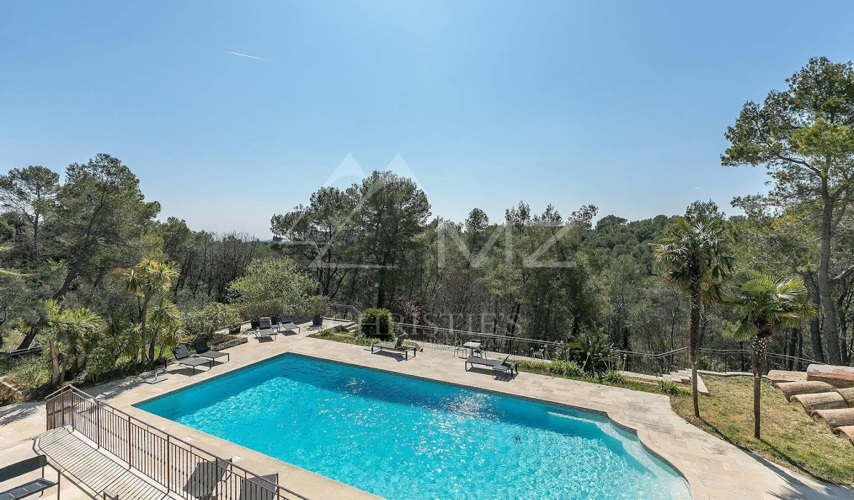 Villa avec piscine et jardin Le Rouret