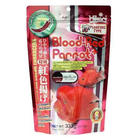 Blood-Red Parrot Pellets Medium