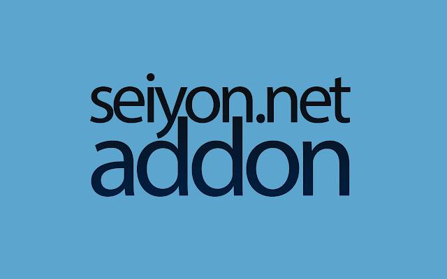 Seiyon.net add-on