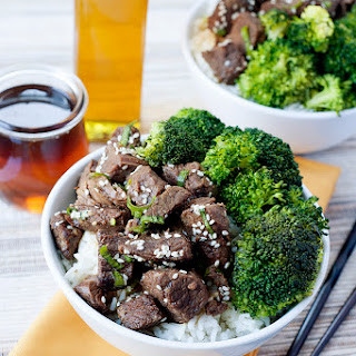 Asian Beef and Broccoli Bowls
