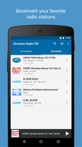 Christian Radio FM 6.1 screenshots 4
