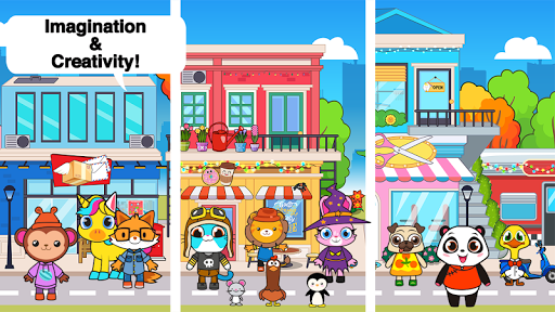 Télécharger Main Street Pets Village - Meet Friends in Town  APK MOD (Astuce) screenshots 6