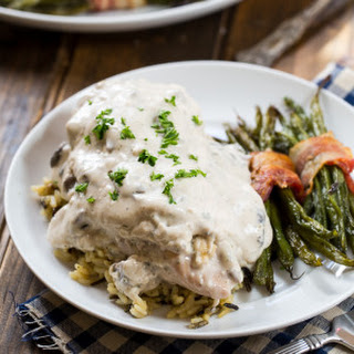 Crock Pot Creamed Chicken.