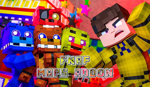 Maps FNaF & Addon for Minecraft 3.0 screenshots 2