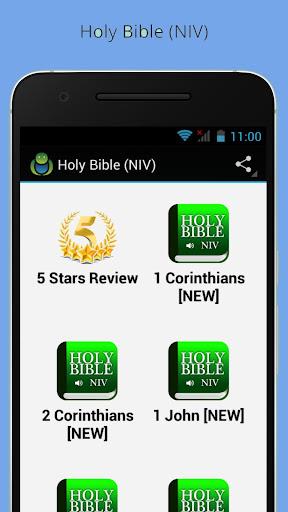 Niv Audio Bible Free