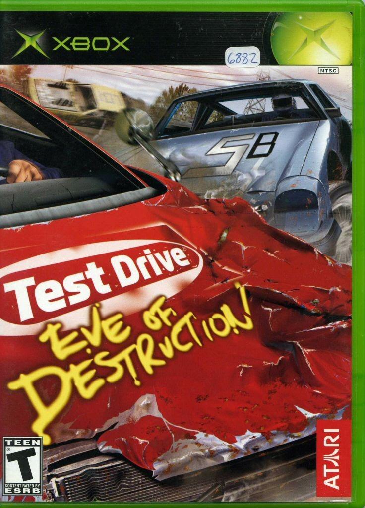Video game:Microsoft Xbox Test Drive: Eve of Destruction — Google