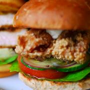 Japa Chicken burger