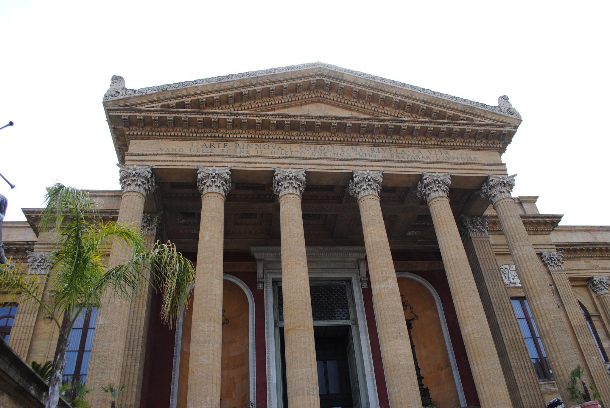 My Photos: Italy -- Sicily -- Palermo -- Teatro Massimo