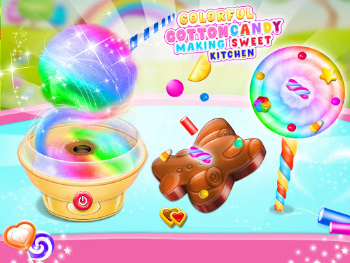 Cotton Candy & Sweet Maker Kitchen 1.2 screenshots 2
