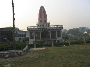 Photo: Memorial Temple of Sri Nabanibandhu Brahmachari beside that of Sri Mahanambrataji in Sri-Angan premises