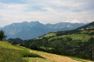 Photo: Widoki ładne, ale zjazd z przełęczy był dla mnie męczarnią. Było pod silny wiatr :/