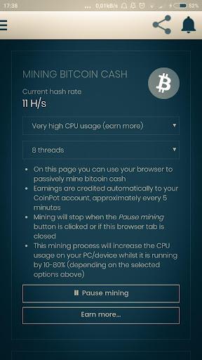 Smart Bitcoin Miner Wallet- Earn free money screenshot 3