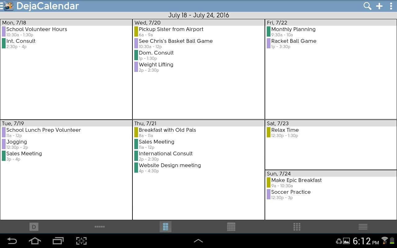 DejaOffice CRM with PC Sync- screenshot