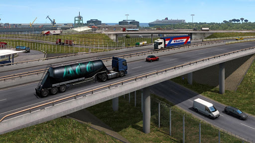 Oil Tanker Transport Simulation : Euro Truck Drive 1.2 screenshots 9