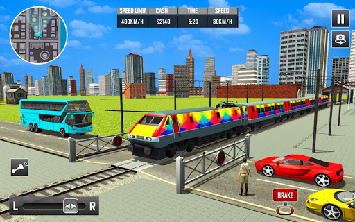 Modern Train Driving Games: Railway Road Transport ss3