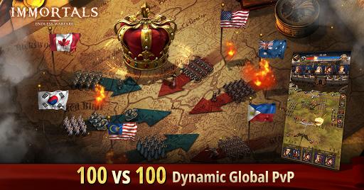 Immortals: Endless Warfare apkmr screenshots 4