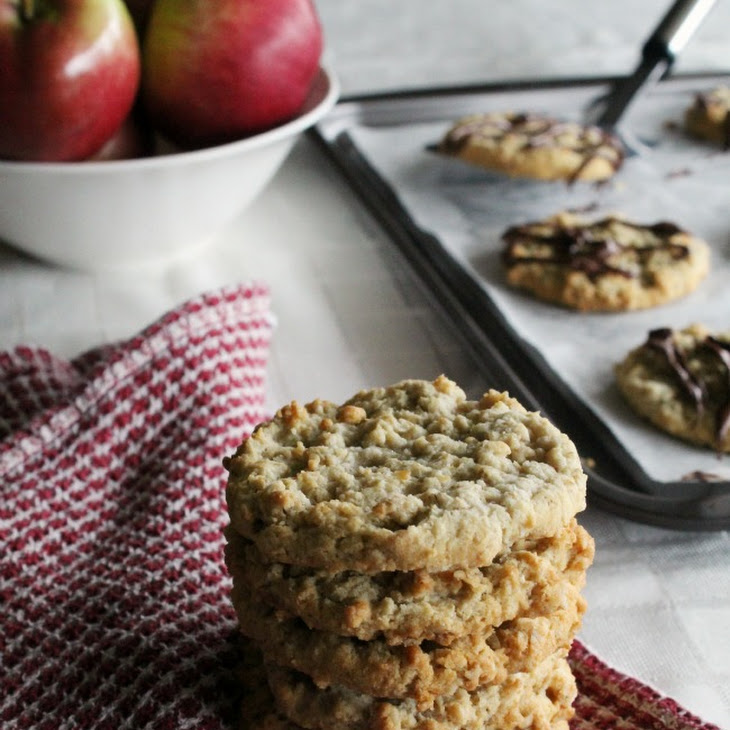 Gluten-Free Oatmeal Applesauce Cookies with Toffee Bits Recipe