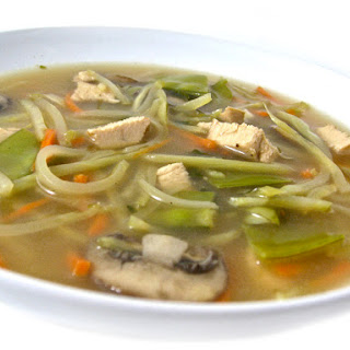Super Healthy and Delicious, Chinese Chicken Vegetable Soup.