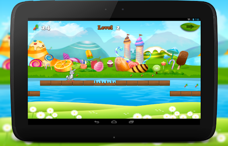 Bunny Dash Skater Adventure screenshot 9