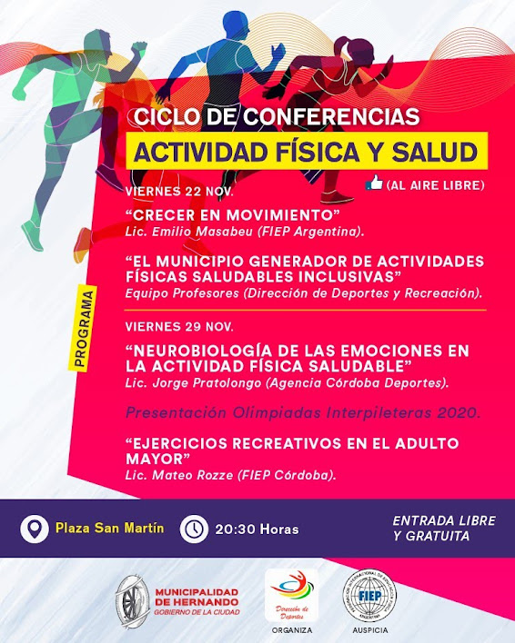 Llega el primer ciclo de conferencias en actividad física y salud