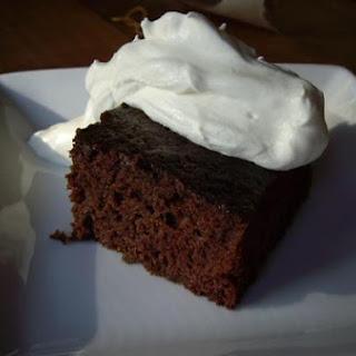 Chocolate-Sauerkraut Cake
